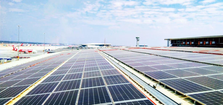 Bengaluru Airport Solar Powered
